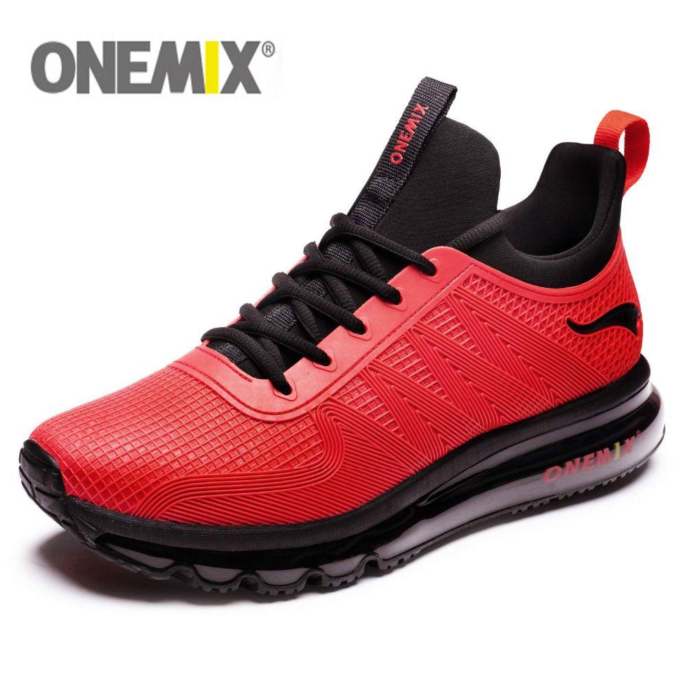ONEMIX Hommes Chaussures de Course Mode Casual Jogging En Plein Air Coussins D'air Gym Fitness Sneakers Max 12