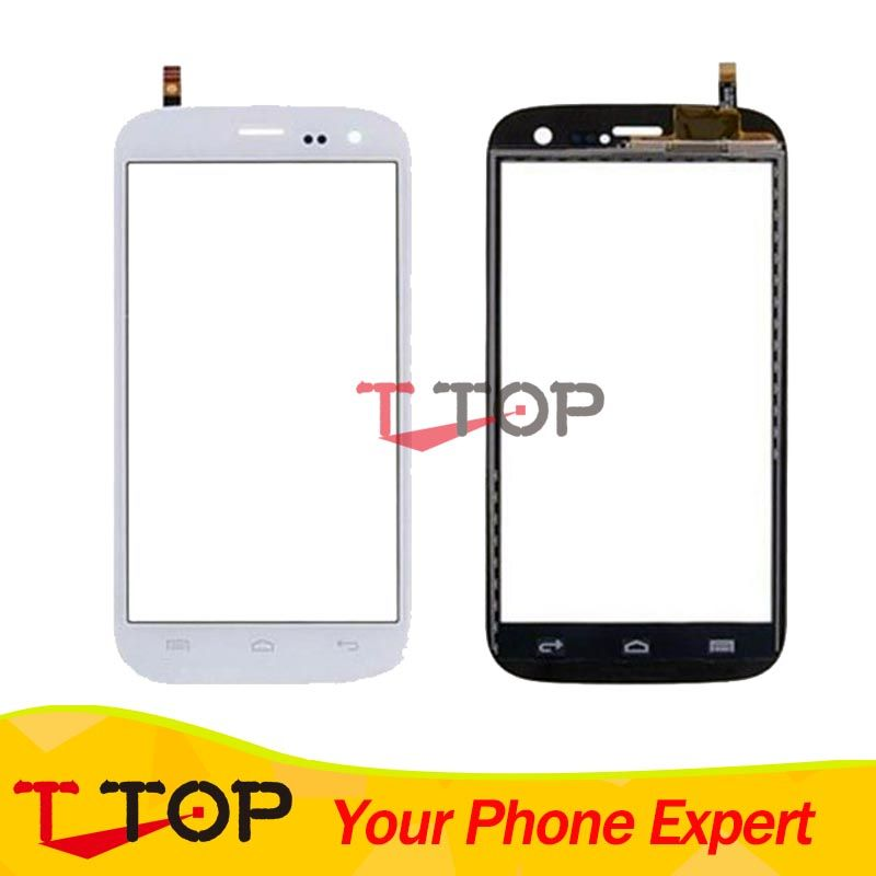 Touch Panel For Wiko Darknight Touch Screen Digitizer Black White Color 1PC/Lot