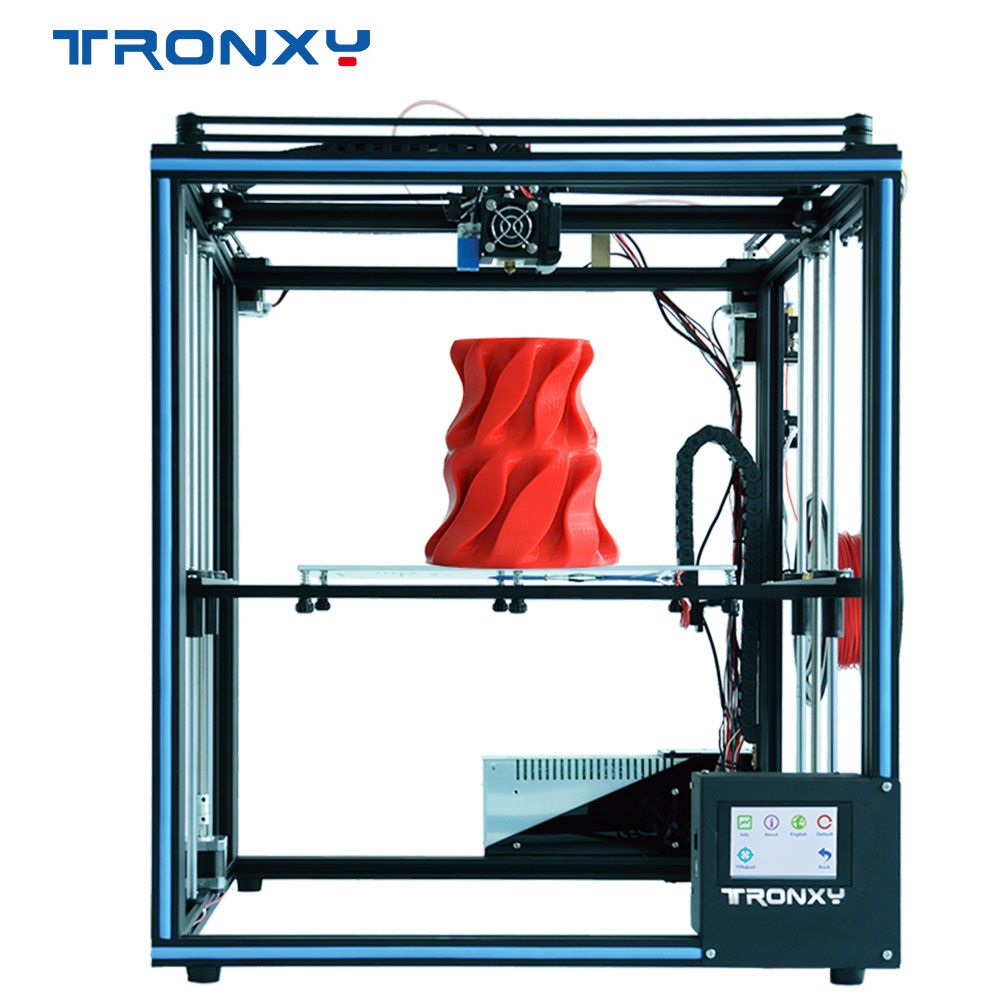 2019 verbesserte 3D Drucker Tronxy X5SA Filament Sensor Große Plus Größe 330*330mm brutstätte Volle Metall TFT Touch bildschirm 3d Drucker