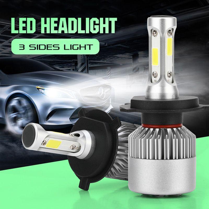 1 Pair H4 H7 H11 H1 H3 9005/HB3 9006/HB4 Led Car Headlight H8 H9 H27 880/880/H27 9004/HB1 9007/HB5 Auto Bulb Headlamp 6500K