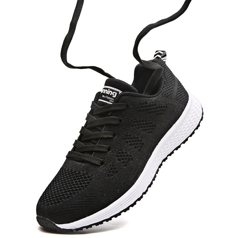 2018 Summer Women Sneakers Breathable Mesh Womens <font><b>Running</b></font> Shoes Lightweight Sport Shoes Woman Jogging Walking Athletic Shoe A08