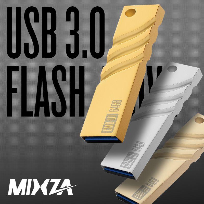 MIXZA CMD-U1 lecteur Flash USB disque 16 GB 32 GB 64 GB USB3.0 lecteur de stylo minuscule clé USB dispositif de stockage Flashdrive
