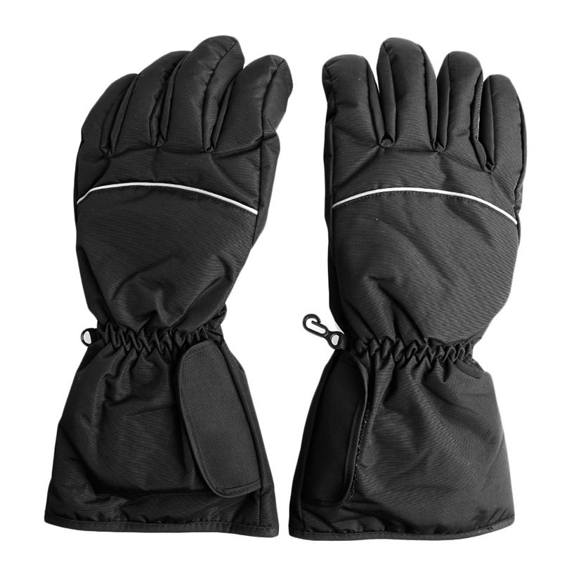 1 <font><b>pair</b></font> Motorcycle Outdoor Hunting Electric Warm Waterproof Heated Gloves Battery Powered For Motorcycle Hunting Winter Warmer
