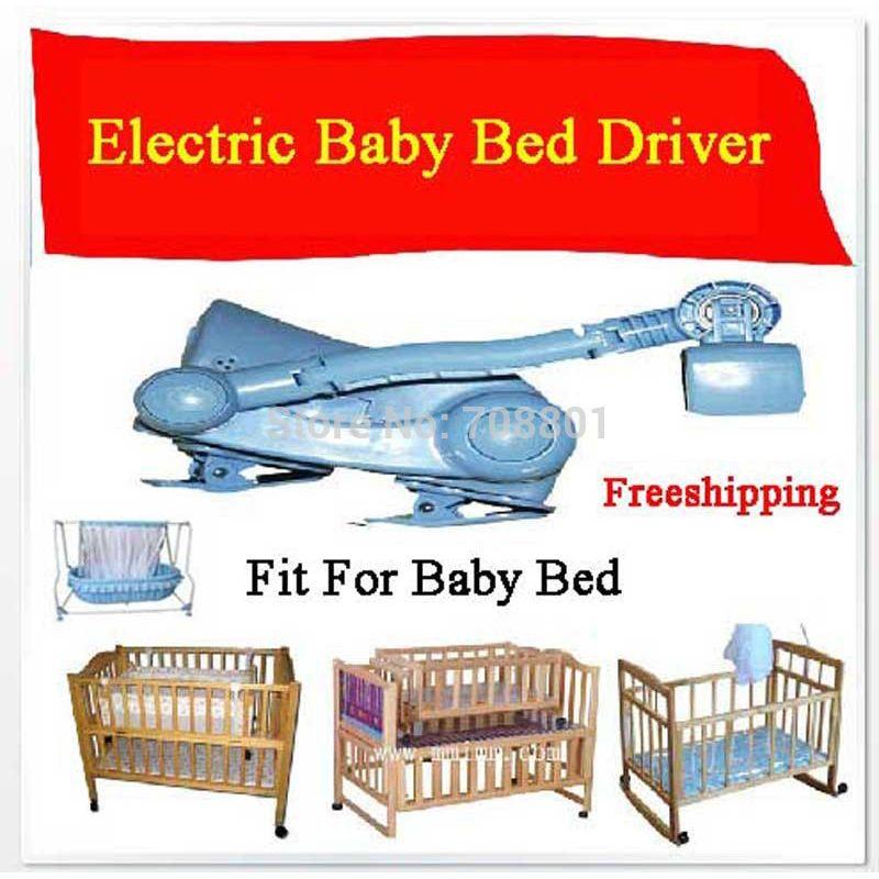 Электрический детская кровать качели Управление Лер Электрический Колыбели управления рокер электрического cot Mammy няня