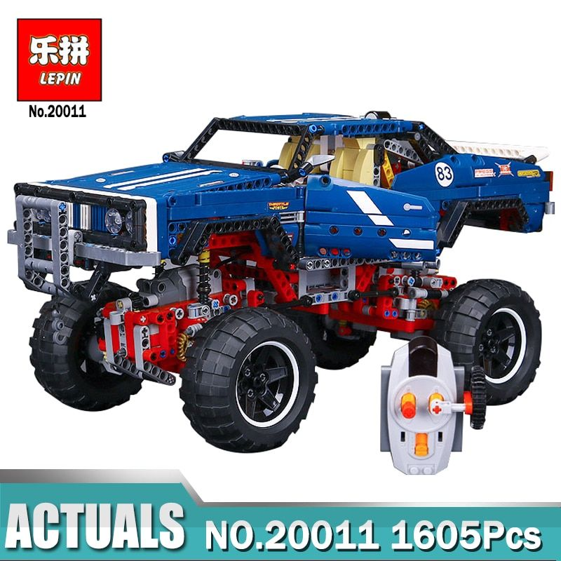 Lepin 20011 Technic Remote Control Electric off-road Vehicles building block toys compatible with Legoing 41999 Technic Toys