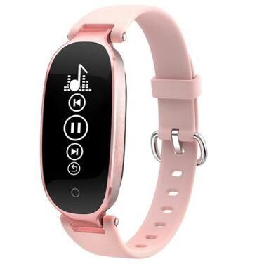 Gift Women Watch S3 Smart Bracelet Heart Rate Smart Wristband Mp3 reloj Fitness Tracker Smart band Pk honor band 4 Pk mi band 3