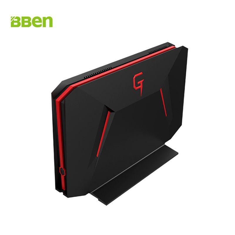 BBEN GB01 Mini PC Windows 10 Intel I7 7700HQ NVIDIA GTX1060 8 gb RAM + 128g SSD + 1 t HDD DP WiFi PC Mini Gaming Computer