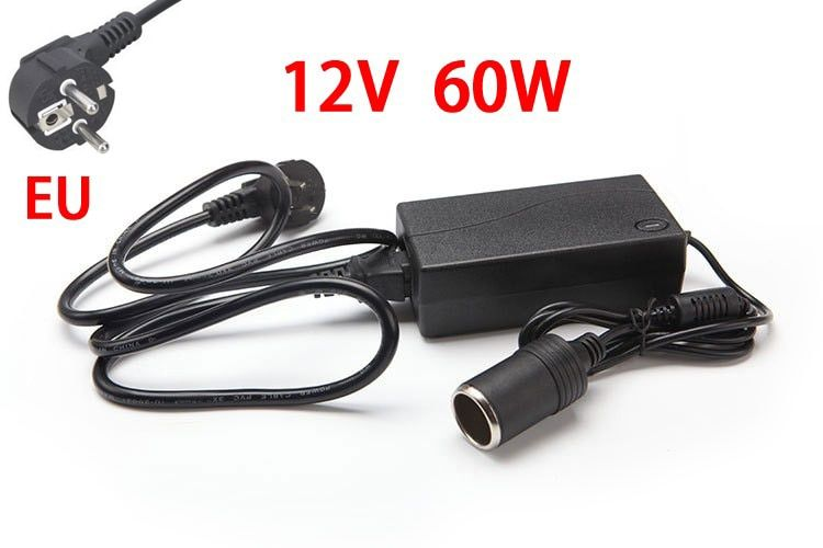 60W AC 100V-240V 100V 220V to DC 12V Car Cigarette Lighter AC/ DC Power <font><b>Converter</b></font> Adapter Inverter DC Power Supply Transformer