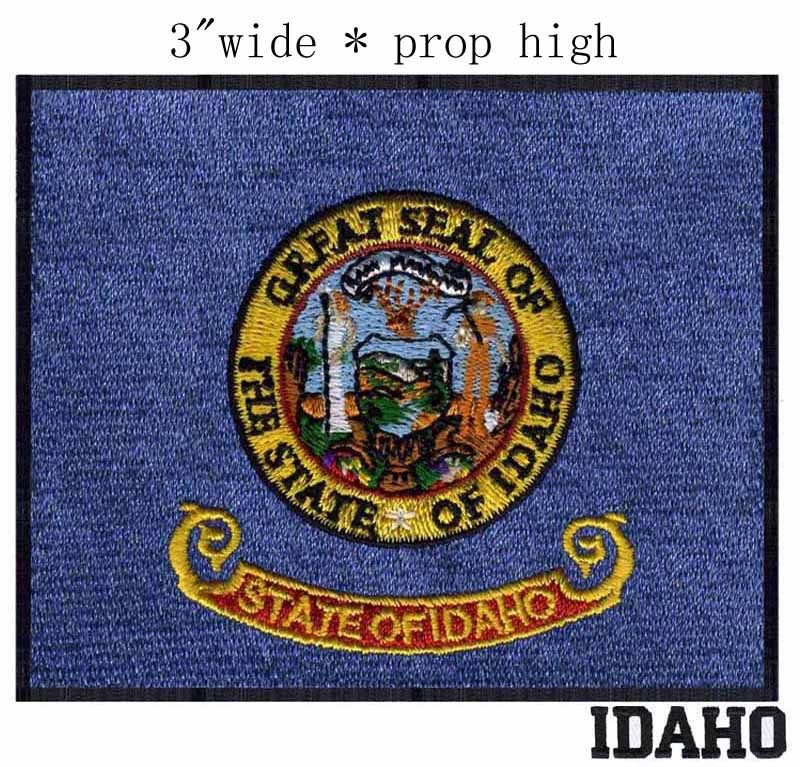 Idaho Flag embroidery patch 3