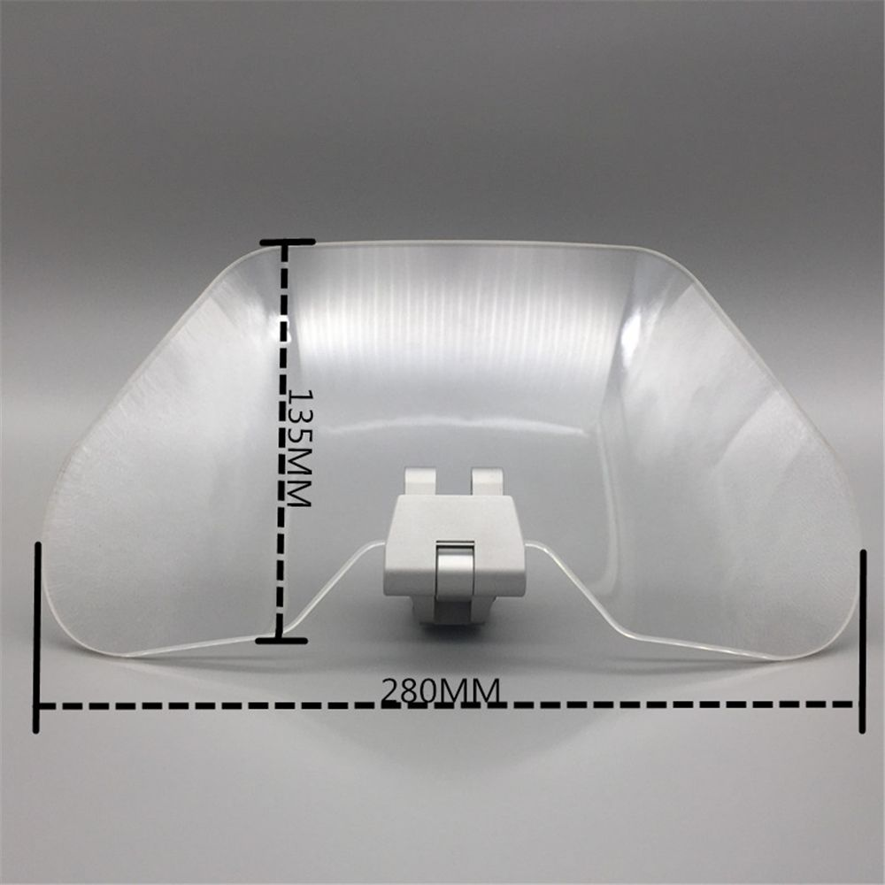 Airflow Adjustable Windscreen Wind Deflector Transparent Variable Spoiler Blade for kawasaki versye 650 300