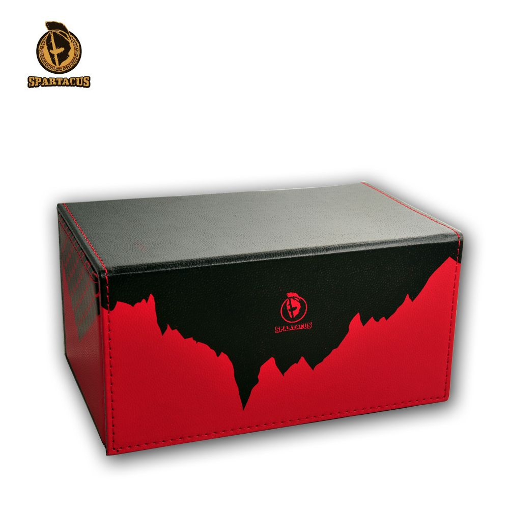 TW Leather On The Open Box For The Game King Array Duel Capacity 180 Sheets Magic Card Box