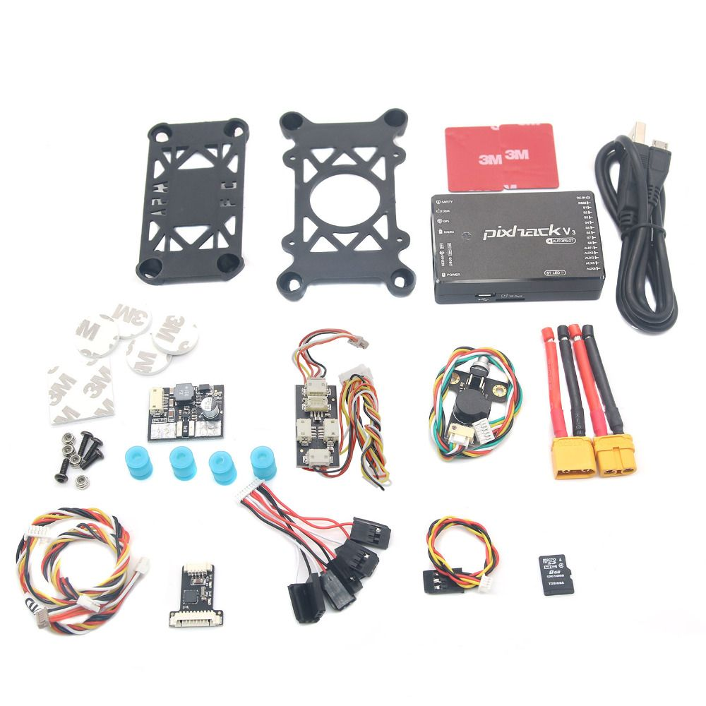 2018 NEW Product CUAV Pixhack V3 Flight Controller Combo for FPV RC Drone Quadcopter Helicopter