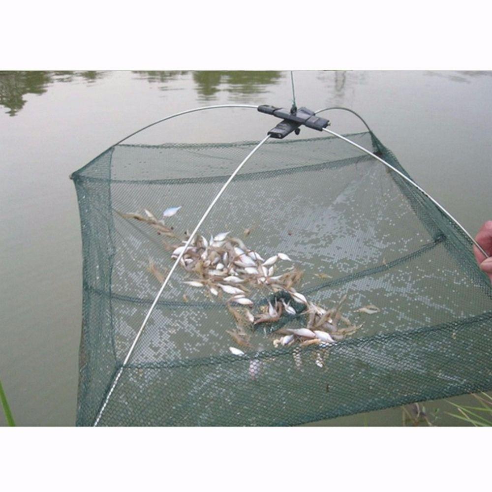 2017 neue Faltbare Crab Fish Crawdad Garnelen Minnow Angeln Köder Stromfalle Dip Net Nützlich