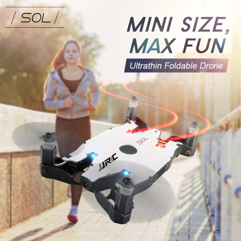 JJRC H49 H49WH RC Quadcopter WIFI Ultrathin Foldable Arm Selfie Drone Smart Altitude Hold Mode Camera Drone