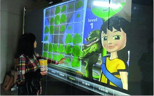 Hot Promotion!! (1.524m*3m ) transparent 3d holographic film/foil Rear Projector Screen film/foil display