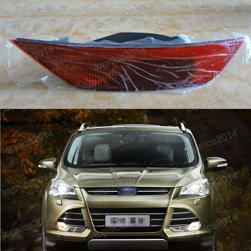 1Pcs Right Side Rear Bumper Fog Light Tail Fog lamp For Ford Escape/Kuga 2013-2016