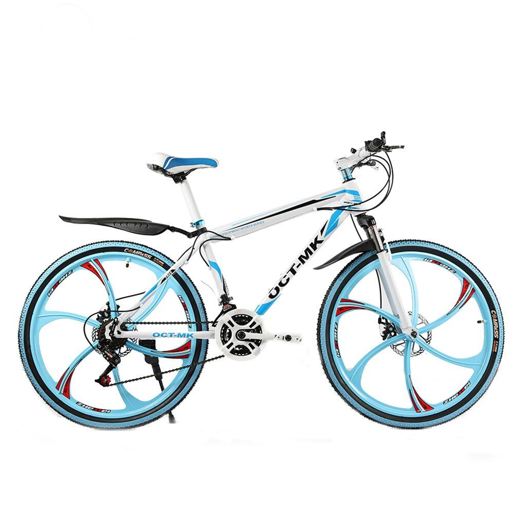 Russian warehouse and Wholesale 26 inch and 21 speed <font><b>integrated</b></font> wheel mountain bike Bicycle downhill Road