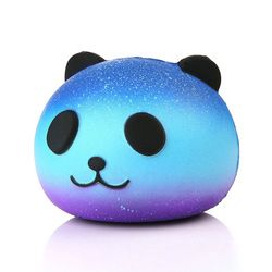 Lucu Panda Biru Krim Beraroma Licin Lambat Meningkatnya Squeeze Mainan Anak Telepon Charm Hadiah