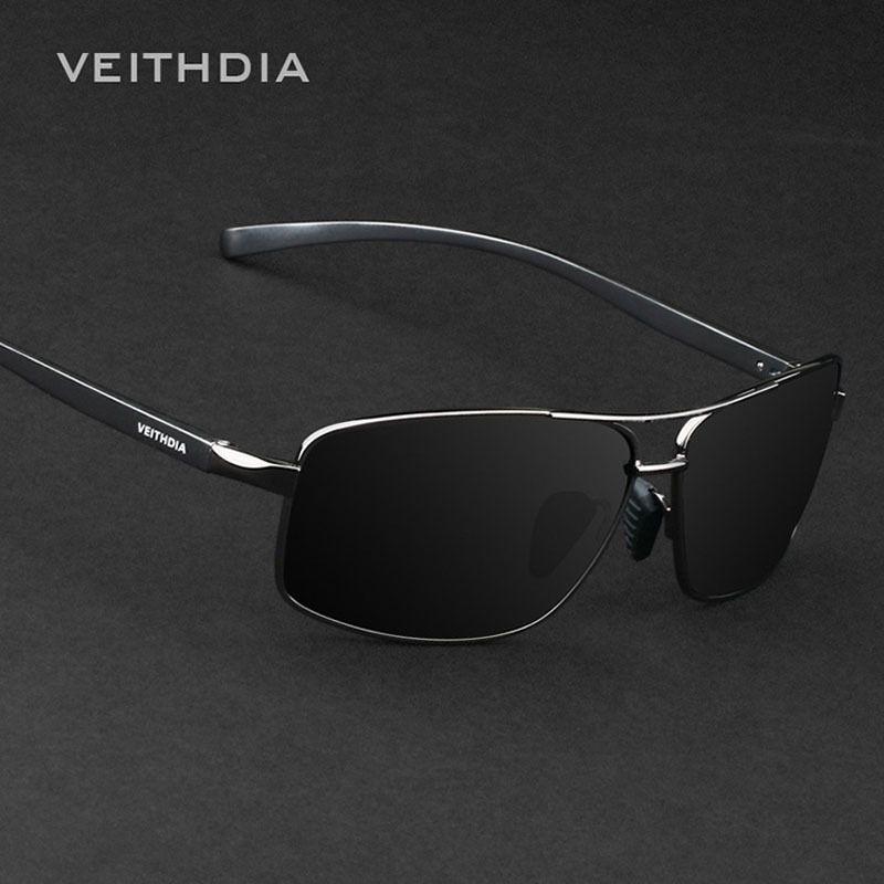 2017 VEITHDIA Brand New Polarized Men's Sunglasses Aluminum Sun Glasses Eyewear Accessories For Men oculos de sol masculino 2458