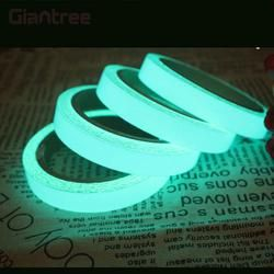 Giantree 2 cm x 1 m luminoso Cintas 5 color glow Cintas reflectante Cintas material reflectante moda DIY Seguridad etiqueta auto-adhesivo