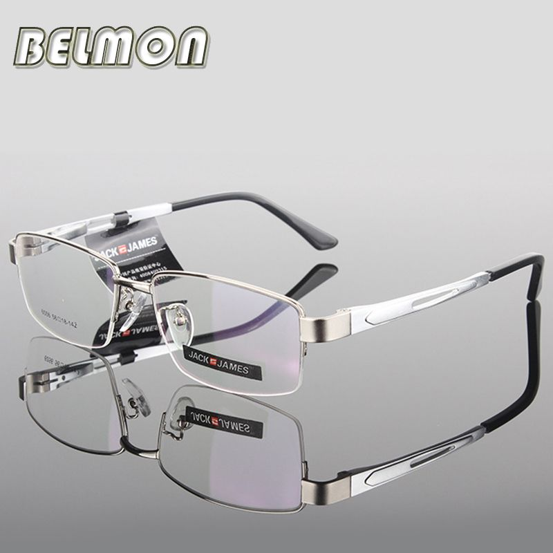 AL-MG lunettes de vue hommes ordinateur optique lunettes de vue cadre pour homme Transparent clair lentille Armacao de RS276