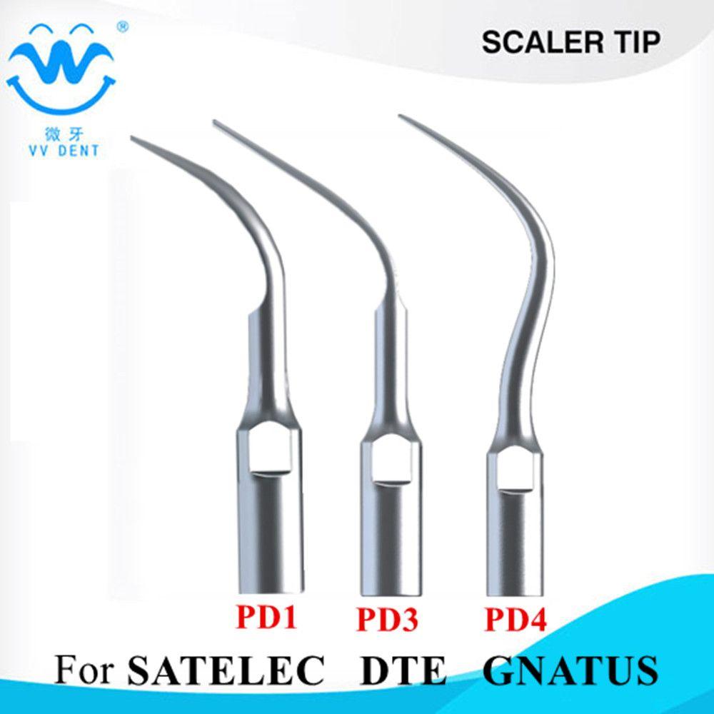 3 UNIDS escalamiento Dental perio Consejos abeto para satelec carpintero-dte NSK, utilizado para Escalador Ultrasónico Dental blanqueamiento