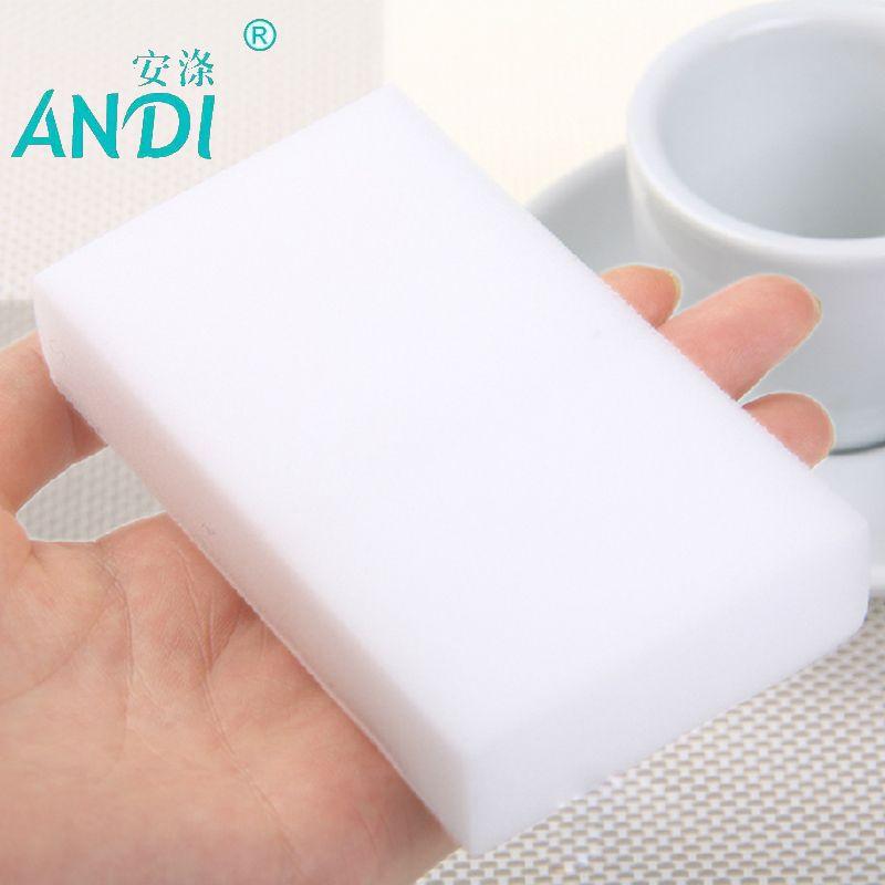 10/20/40/100pcs High Density Melamine Sponge Nona Magic Sponge Eraser Dish Cleaner for Kitchen Office Bathroom Cleaning