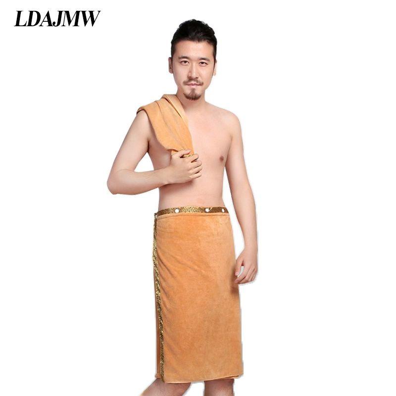 LDAJMW 2 pièces/ensemble 70x140 cm serviettes de bain pour hommes portable séchage rapide grande serviette épaisse douce plage Spa salle de bains avec serviette de visage