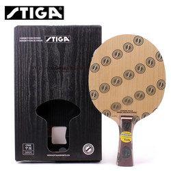 STIGA INFINITY VPS V 5 Tenis Meja Blade (5 Ply Kayu Digunakan Oleh Penggemar Zhendong) raket Ping Pong Kelelawar Tenis De Mesa Dayung