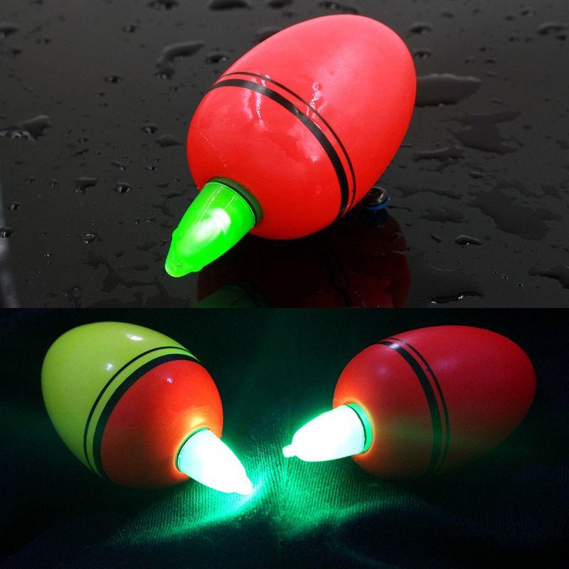 5 Teile/paket EVA Angeln Float Hard Tail Luminous Night Fishing Schwimmdock Schwimmt 80g Pol Bauch Boje für Ozean Rock angeln Werkzeug
