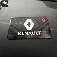 Авто-Стайлинг автомобиля Стикеры Коврики чехол для Renault Megane 2 3 тряпкой Logan Clio Лагуна 2 Captur Салонные аксессуары стайлинга автомобилей