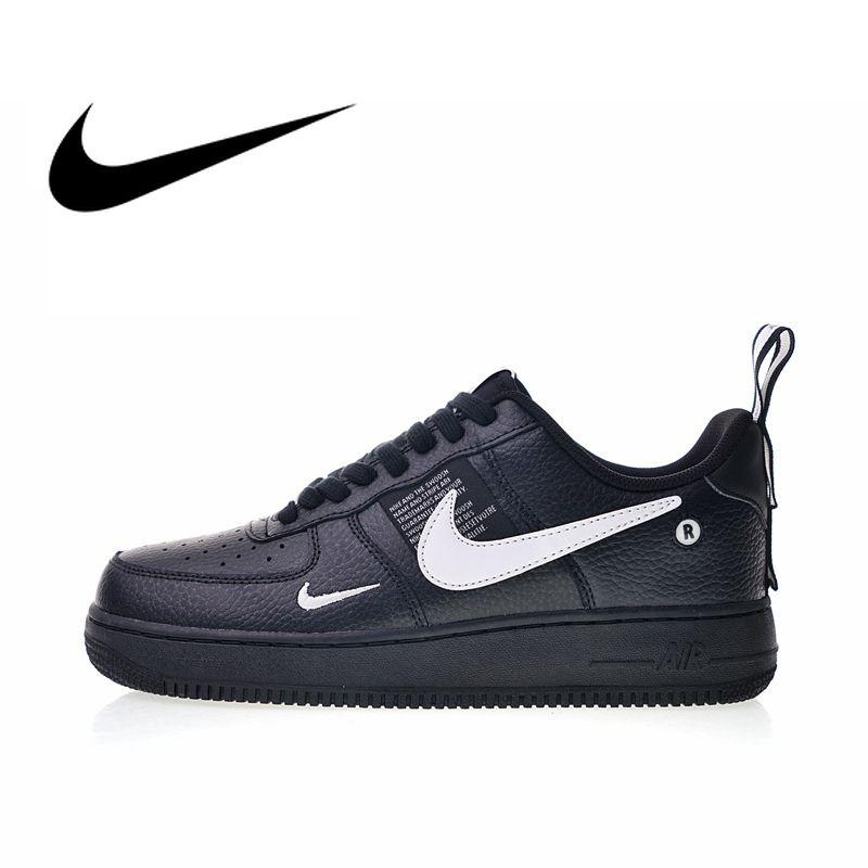 Original Authentischen Nike Air Force 1 07 LV8 männer Skateboard Schuhe Turnschuhe Designer Durable Leichte 2019 Neue AJ7747-001