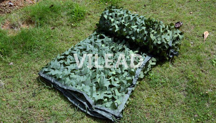 VILEAD 4M*5M Green Digital Camouflage Netting Jungle Camo Net Tarp Army Tarp Camping Sun Shade Hunting Shelter Camo Mesh Net