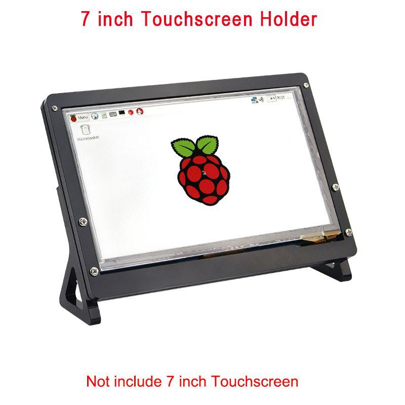 7 pouce LCD Affichage Écran Tactile De Logement Support pour Raspberry Pi 3 B + Support Acrylique pour 7 pouce Framboise pi LCD 1024*600