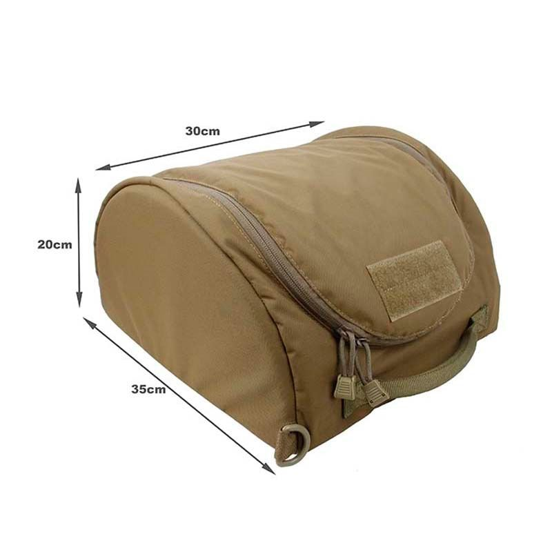 Nouveau TMC Airsoft Tactique Casque Sac sac de rangement pour le Transport Casque 500D tissu cordura
