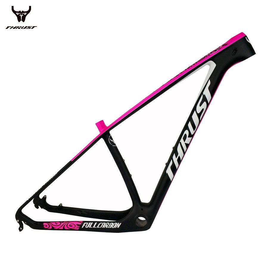 THRUST Carbon Mountain Bikes Frame 29er Chinese Carbon Fame mtb T1000 Bicycle Frame 27.5er Size 15 17 19