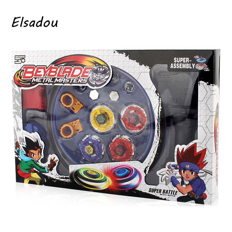 Elsadou Beyblade Burst Arena Spinning Top Lutte Beyblad Toupie Fusion Enfants Cadeaux Jouets Classiques