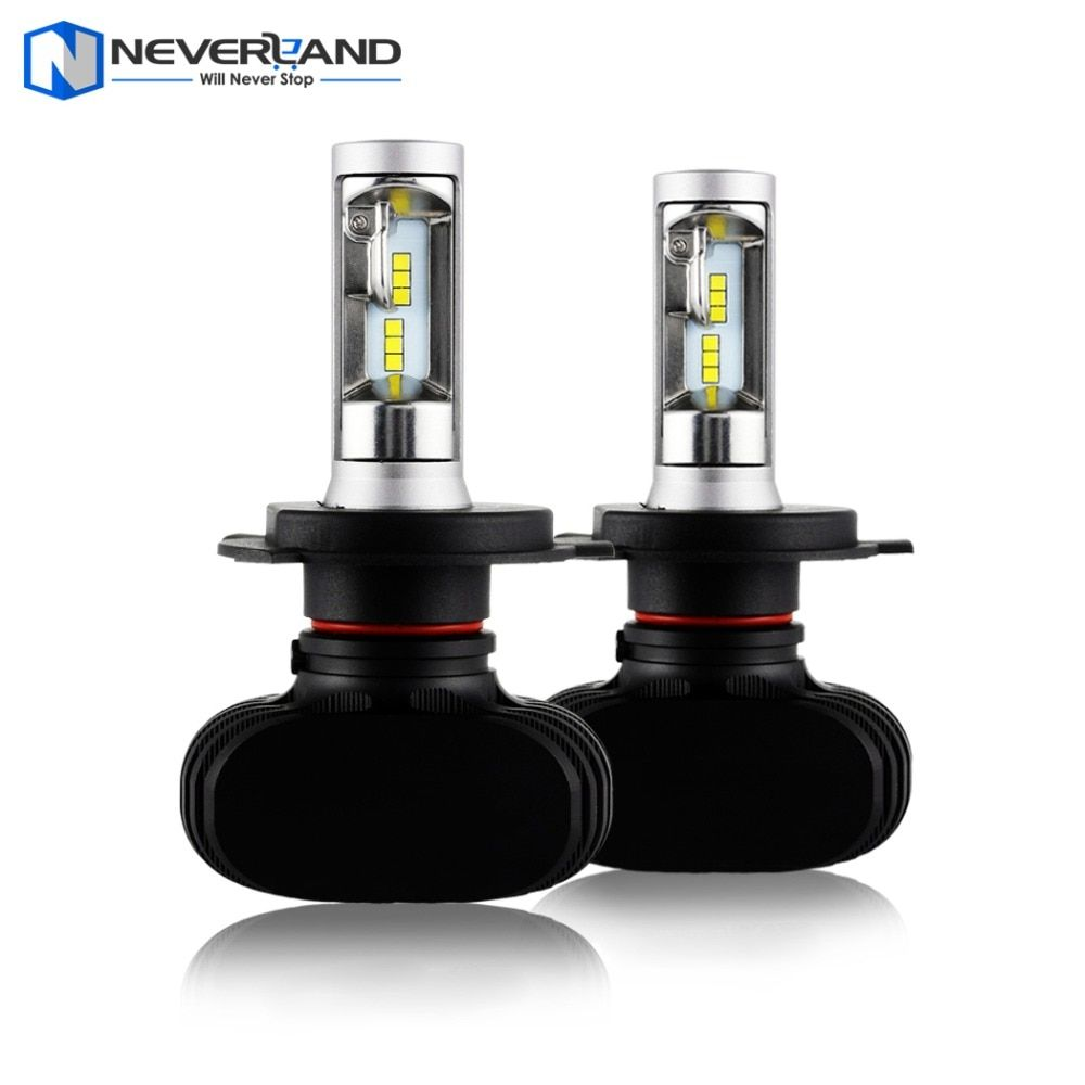NEVERLAND 8000LM 50W 6500K Car LED Headlight Kit Fog Lamps H4 H7 H11 H1 9005 HB3 9006 HB4 880 881 9V 32V
