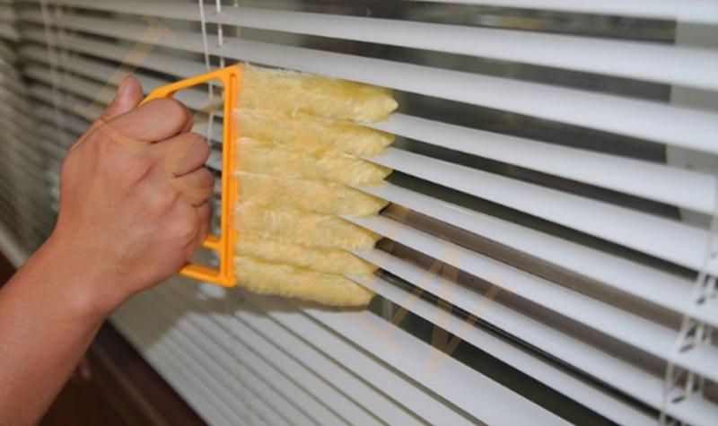 Waschbar Mikrofaser 7 Hand Fenster Mini-blinden Reinigungsbürste Conditioner, shutter Reiniger Duster Haushalt ToolLUBAN