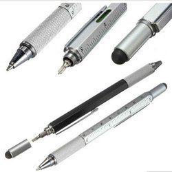 1 PCS/LOT Moderne conception de poche outil technologie tournevis règle stylo à bille multifonction tactile le niveau de pied