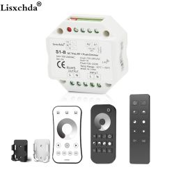 Triac LED Dimmer 220 V 230 V 110 V AC inalámbrico RF Dimmable interruptor con 2,4g control remoto para un solo Color LED lámparas del bulbo