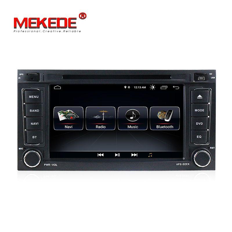 2din 7inch Android8.1 Quad-core Car multimedia dvd player gps navigator for VW Touareg Multivan T5 (2002-2010) car radio BT ipod