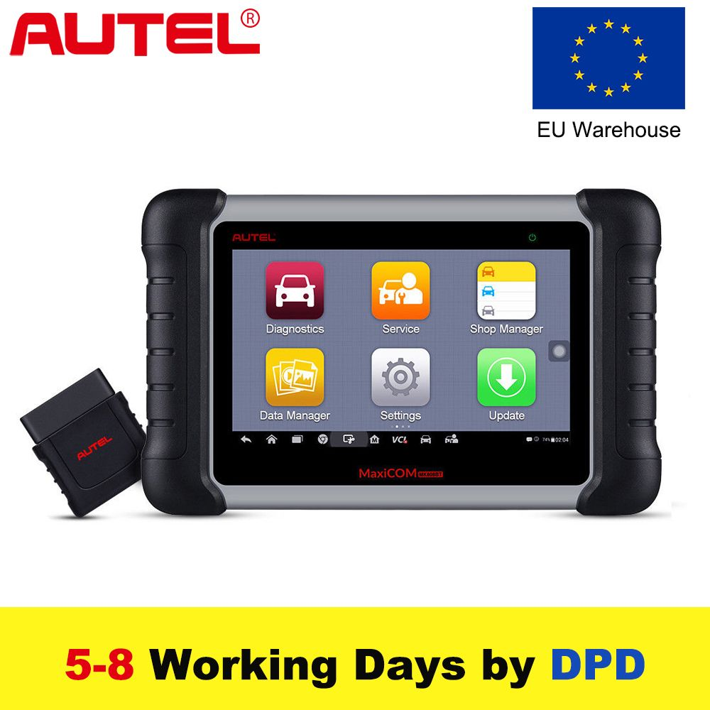Autel MaxiCOM MK808BT OBD2 Scanner Auto Scan Diagnostic Tool Code Leser Automotive Diagnose Funktionen von EPB IMMO DPF SAS TMPS