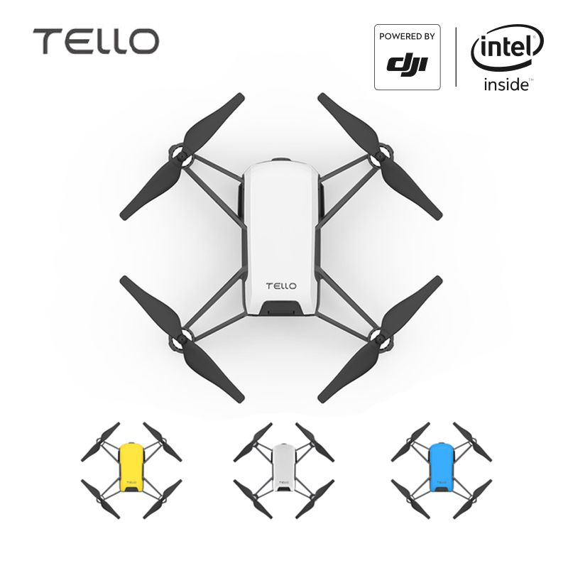 DJI Tello Camera Drone Ryze Tello Drones with Coding Education 720P HD Transmission Quadcopter FVR <font><b>Helicopter</b></font> EU