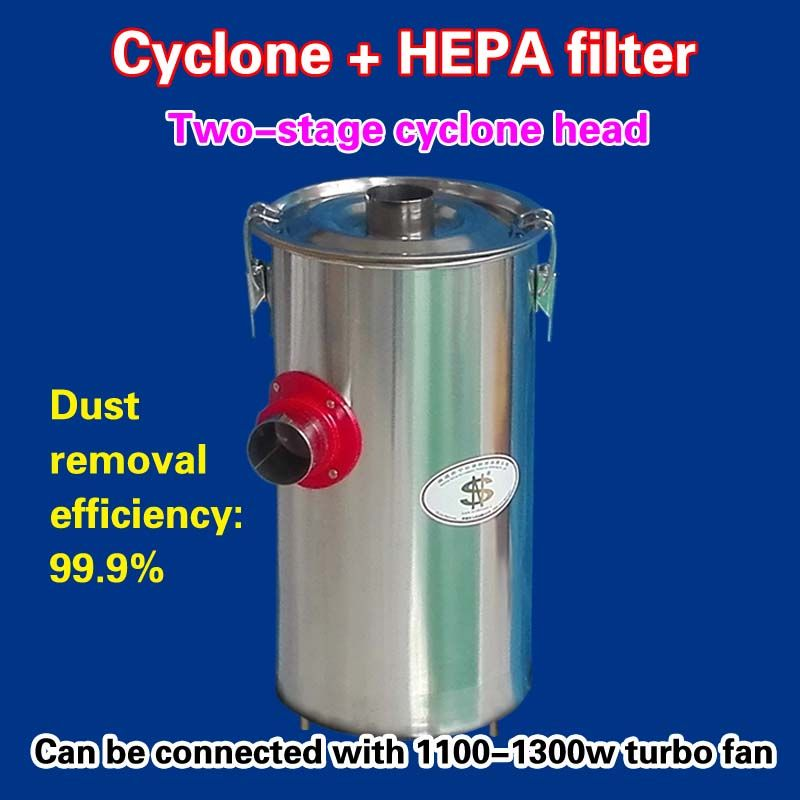 Two-stage cyclone head = cyclone + HEPA filter ( 1 piece )