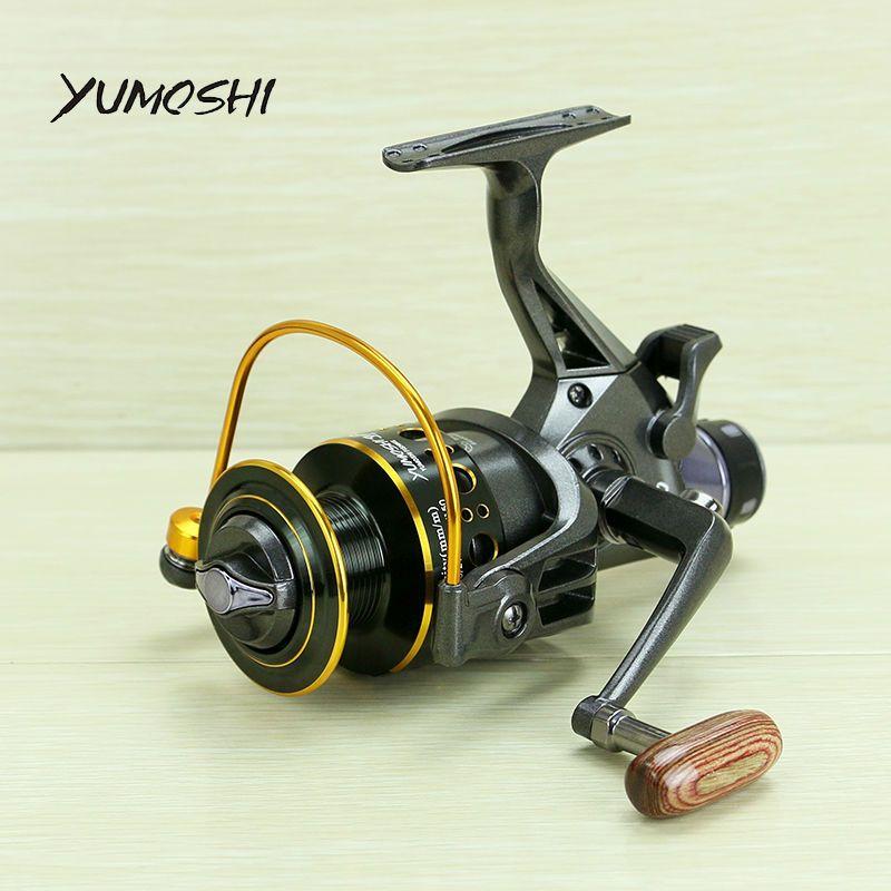 YUMOSHI 2017 nouveau 10 + 1 BB Avant et Frein Arrière bobines 3000 4000 5000 6000 moulinets de pêche