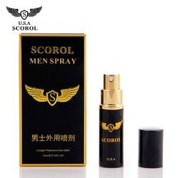 Scorol Men Spray Sex pill for men penis premature ejaculation long time sex delay spray ,herbal penis enlargement Essential Oil