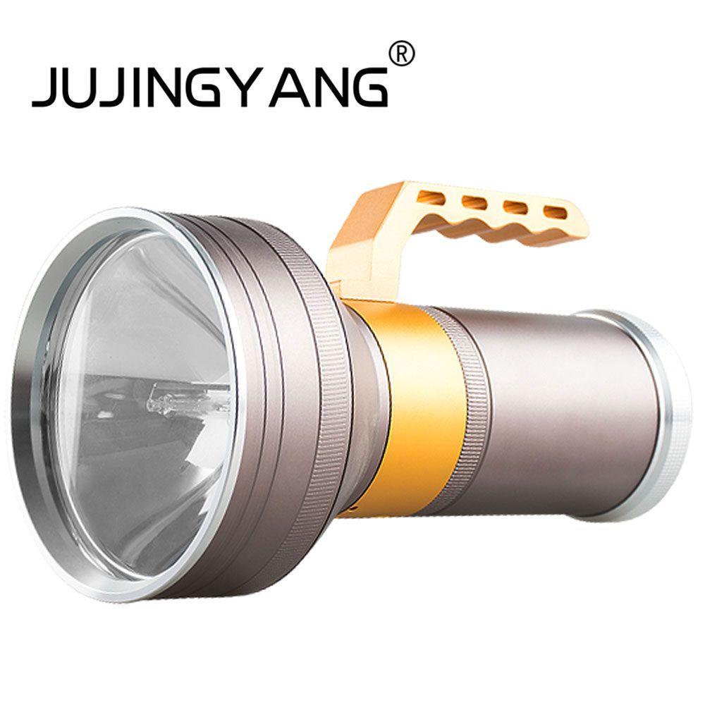JUJINGYANG Strong light super bright long-range spotlight night fishing searchlight HID xenon fishing lights