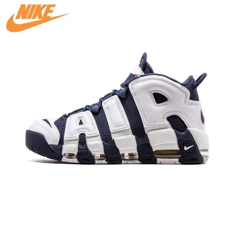 Nike Air Weitere Uptempo Olympischen herren Basketball-schuhe Sport Turnschuhe Trainer 414962-104