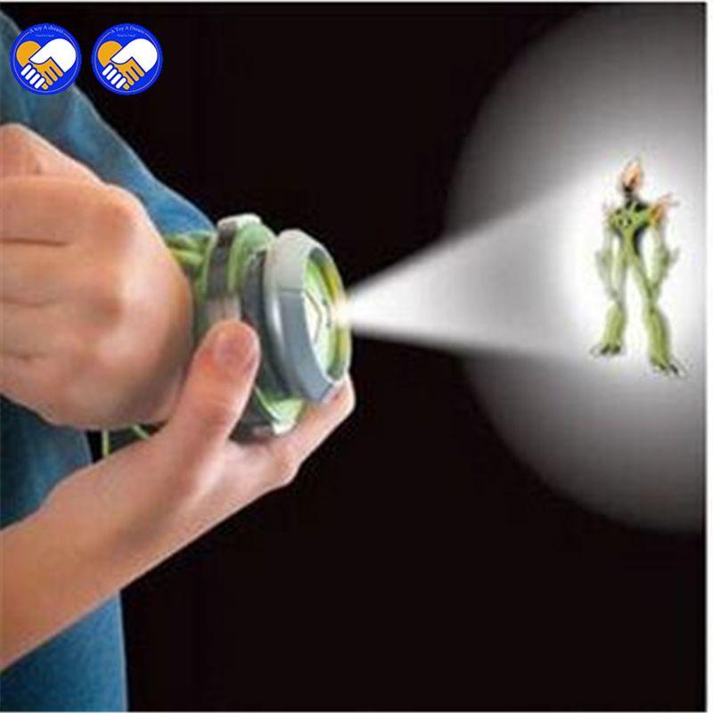 Un jouet un rêve vente chaude Ben 10 Style japon projecteur montre BAN DAI jouets authentiques pour enfants enfants diaporama bracelet de montre goutte